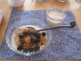Berries and sweet porridge 031