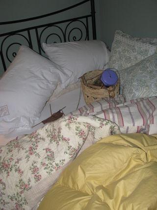 Cozy winter bed 010