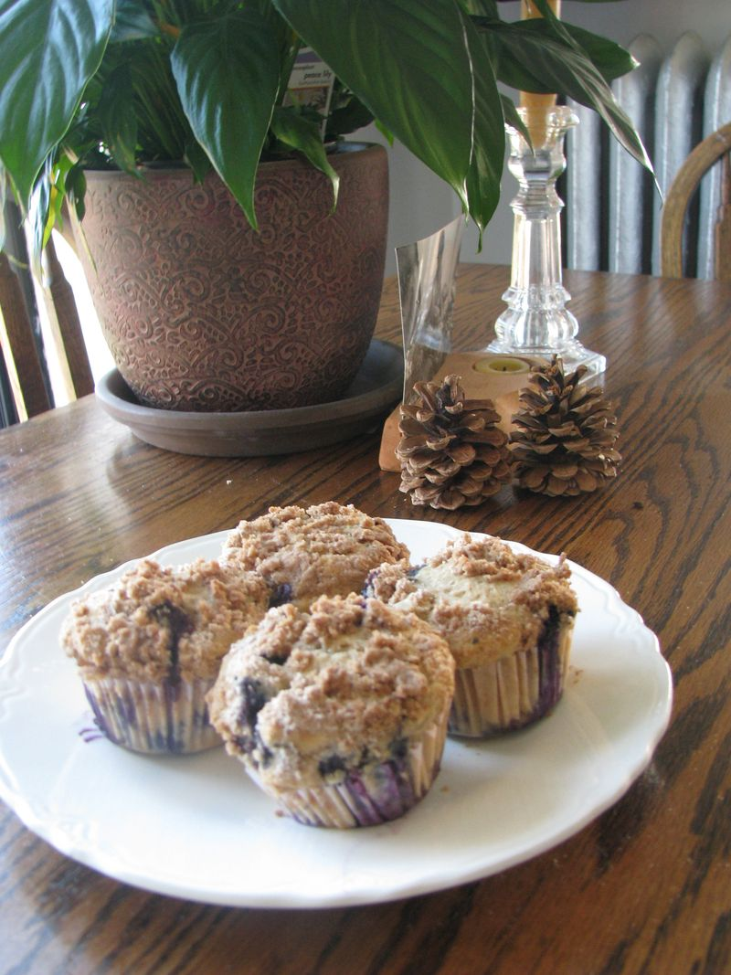 Blueberry muffins 001