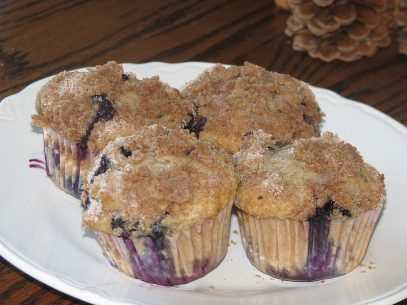 Blueberry muffins 004