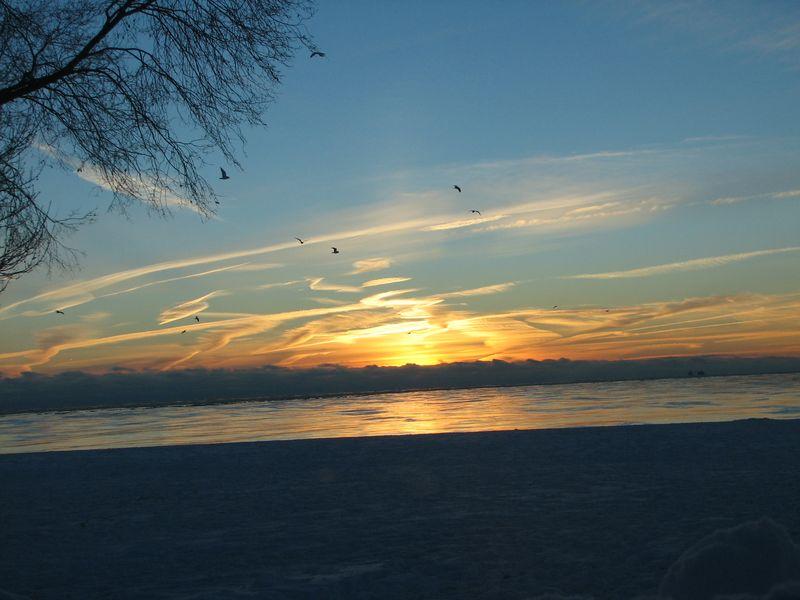 Post snow winter sunrise 018