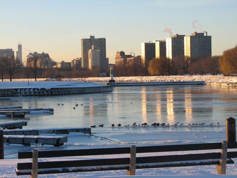 Post snow winter sunrise 027