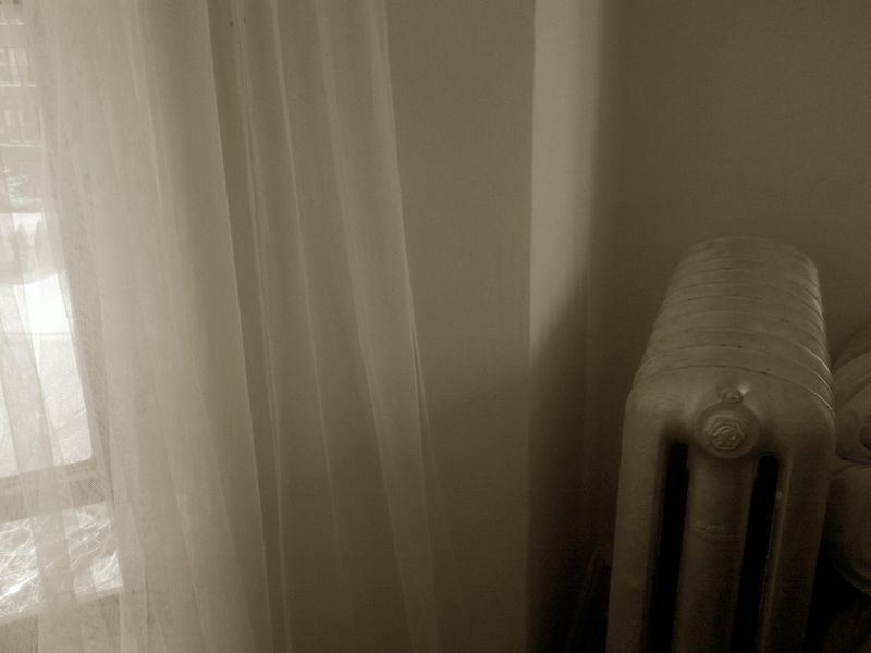 Sepia days radiator