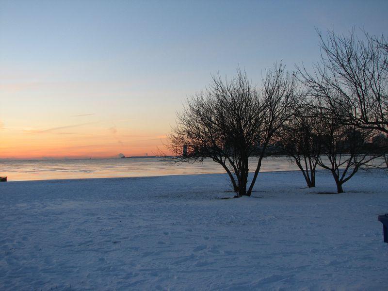 Post snow winter sunrise 009