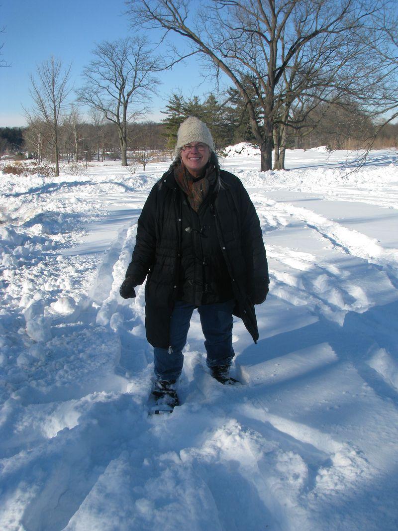 Snowshoeing 052