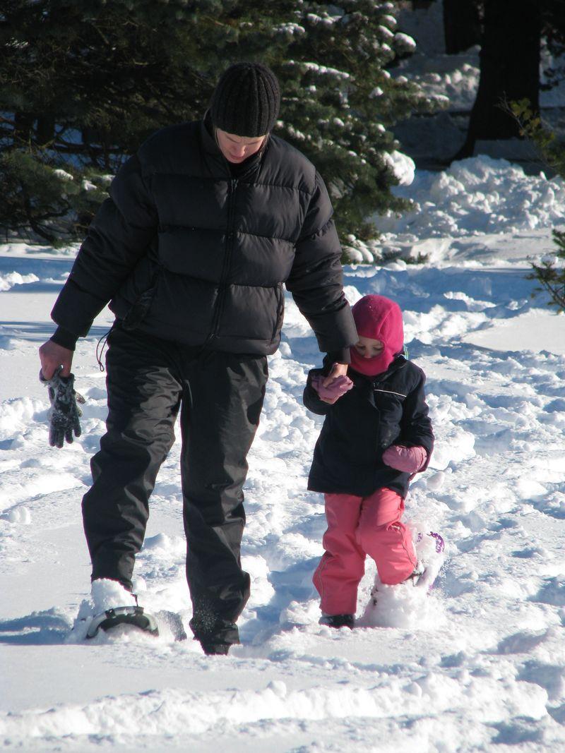 Snowshoeing 058