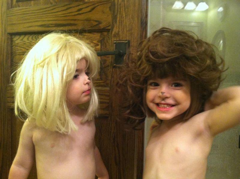 Wigs eli and sofia