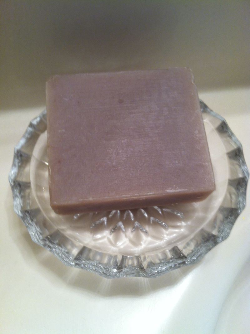 Soap dish and mom 006
